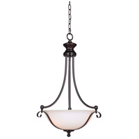 Chelsea 3 Light 17 inch Oil Bronze Gilded Inverted Pendant Ceiling Light in Oiled Bronze Gilded, Jeremiah