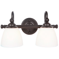 Craftmade 39902-ESP Brighton 2 Light 17 inch Espresso Vanity Light Wall Light