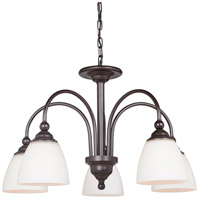 Brighton 5 Light 26 inch Espresso Chandelier Ceiling Light