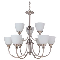 Craftmade 39929-BNK Brighton 9 Light 32 inch Brushed Polished Nickel Chandelier Ceiling Light