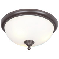 Craftmade 39983-ESP Brighton 3 Light 19 inch Espresso Flushmount Ceiling Light
