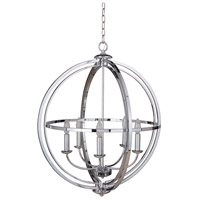 Berkeley 5 Light 26 inch Chrome Foyer Light Ceiling Light, Jeremiah