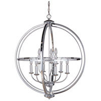 Berkeley 9 Light 30 inch Chrome Foyer Ceiling Light, Jeremiah