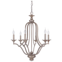 Gabriella 6 Light 26 inch Athenian Obol Chandelier Ceiling Light, Jeremiah