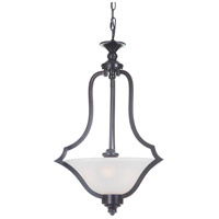 Craftmade 40243-MBK Gabriella 3 Light 18 inch Matte Black Pendant Ceiling Light, Jeremiah
