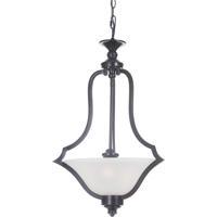 Craftmade 40243-MBK Gabriella 3 Light 18 inch Matte Black Pendant Ceiling Light Jeremiah