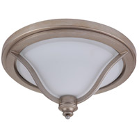 Gabriella 3 Light 17 inch Athenian Obol Flush Mount Ceiling Light, Jeremiah