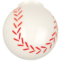 Signature Baseball Fan Glass, Sphere