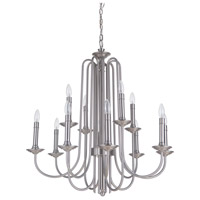 Avery 12 Light 31 inch Polished Nickel Chandelier Ceiling Light