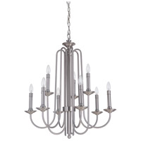 Avery 9 Light 27 inch Polished Nickel Chandelier Ceiling Light