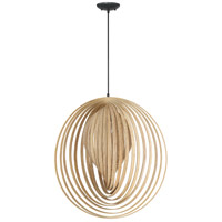 Cirq 1 Light 25 inch Espresso Pendant Ceiling Light, Jeremiah