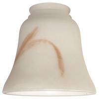 Ellington by Craftmade Bell 2.25-inch Glass in Faux Alabaster 412AL
