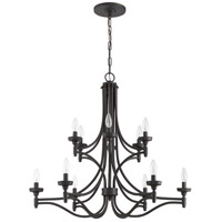 Sophia 12 Light 32 inch Aged Bronze Brushed Chandelier Ceiling Light