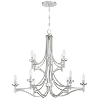 Craftmade 41412-CH Sophia 12 Light 32 inch Chrome Chandelier Ceiling Light photo thumbnail