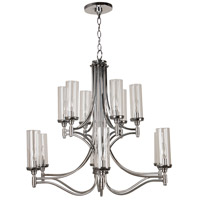 Craftmade 41412-CH Sophia 12 Light 32 inch Chrome Chandelier Ceiling Light alternative photo thumbnail