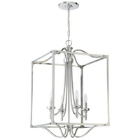 Sophia 4 Light 20 inch Chrome Foyer Light Ceiling Light