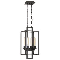 Craftmade 41534-ABZ Cubic 4 Light 11 inch Aged Bronze Brushed Foyer Light Ceiling Light