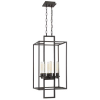 Craftmade 41536-ABZ Cubic 6 Light 16 inch Aged Bronze Brushed Foyer Light Ceiling Light