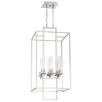 Cubic 6 Light 16 inch Chrome Foyer Light Ceiling Light