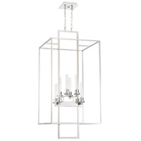 Cubic 8 Light 21 inch Chrome Foyer Light Ceiling Light