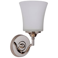 Craftmade 41701-PLN Helena 1 Light 6 inch Polished Nickel Wall Sconce Wall Light, Jeremiah