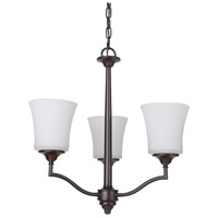Craftmade 41723-OB Helena 3 Light 20 inch Oiled Bronze Chandelier Ceiling Light, Jeremiah
