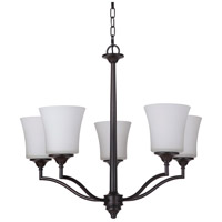 Craftmade 41725-OB Helena 5 Light 26 inch Oiled Bronze Chandelier Ceiling Light, Jeremiah