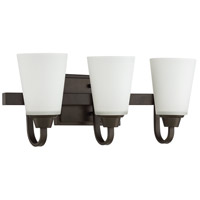 Craftmade 41903-ESP Grace 3 Light 21 inch Espresso Vanity Light Wall Light, Jeremiah
