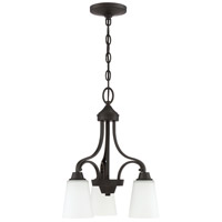 Craftmade 41913-ESP Grace 3 Light 17 inch Espresso Down Chandelier Ceiling Light Jeremiah