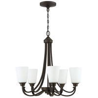 Craftmade 41925-ESP Grace 5 Light 26 inch Espresso Chandelier Ceiling Light, Jeremiah