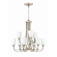 Craftmade 41929-BNK Grace 9 Light 32 inch Brushed Polished Nickel Chandelier Ceiling Light, Jeremiah
