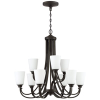 Craftmade 41929-ESP Grace 9 Light 32 inch Espresso Chandelier Ceiling Light, Jeremiah