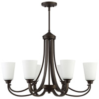 Grace 6 Light 32 inch Espresso Linear Chandelier Ceiling Light, Jeremiah
