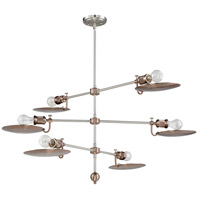 Polished Nickel Aluminum Chandeliers