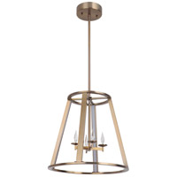 Craftmade 42434-SB-LED Opus LED 16 inch Satin Brass Foyer Light Ceiling Light