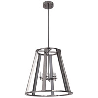 Opus LED 20 inch Black Chrome Foyer Light Ceiling Light