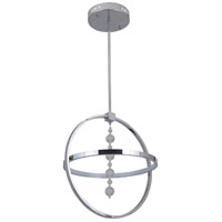 Craftmade 42721-CH-LED Anillo LED 17 inch Chrome Pendant Ceiling Light