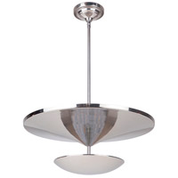 Craftmade 42941-PLN-LED Echo LED 19 inch Polished Nickel Pendant Ceiling Light