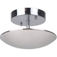 Craftmade 42950-PLN-LED Echo LED 8 inch Polished Nickel Semi-Flushmount Ceiling Light