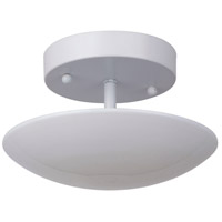 Echo LED 8 inch White Semi Flush Mount Ceiling Light