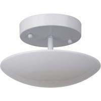 Craftmade 42950-W-LED Echo LED 8 inch White Semi-Flushmount Ceiling Light