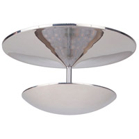 Craftmade 42980-PLN-LED Echo LED 12 inch Polished Nickel Flushmount Ceiling Light