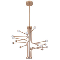 Craftmade 43016-SB-LED Solis LED 33 inch Satin Brass Chandelier Ceiling Light