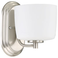 Craftmade 43501-BNK Clarendon 1 Light 6 inch Brushed Polished Nickel Wall Sconce Wall Light