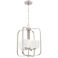 Craftmade 43534-BNK Clarendon 4 Light 16 inch Brushed Polished Nickel Foyer Light Ceiling Light