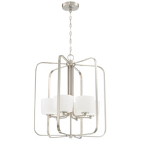 Clarendon 6 Light 22 inch Brushed Polished Nickel Foyer Light Ceiling Light