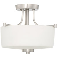 Craftmade 43543-BNK Clarendon 3 Light 17 inch Brushed Polished Nickel Inverted Pendant Ceiling Light