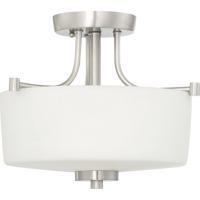 Craftmade 43543-BNK Clarendon 3 Light 17 inch Brushed Polished Nickel Inverted Pendant Ceiling Light