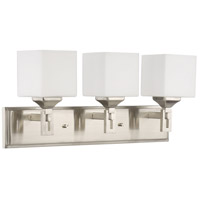 Craftmade 43903-BNK Urbane 3 Light 23 inch Brushed Polished Nickel Vanity Light Wall Light