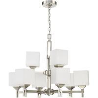Craftmade 43929-BNK Urbane 9 Light 28 inch Brushed Polished Nickel Chandelier Ceiling Light